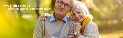 """Le dimanche 25 juillet sera célébrée la première Journée Mondiale des Grands-parents et des Personnes Âgées. Le thème choisi par le Saint-Père pour cette journée est """"Je suis avec toi tous les jours"""" (cf. Mt 28,20) et vise à exprimer la proximité du Seigneur et de l'Église à l'égard de chaque personne âgée, surtout en cette période difficile de pandémie."""