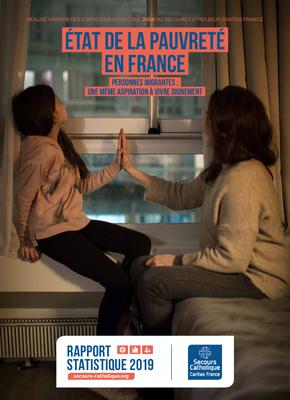 Retrouvez le rapport complet du Secours catholique - Caritas France su l'état de la pauvreté en 2019.