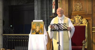 Depuis la cathédrale Saint-André, ce dimanche 12 avril 2020, Mgr Jean-Paul James, archevêque de Bordeaux, adresse son message de Pâques aux fidèles de l'Eglise catholique qui est en Gironde en cette période d'épidémie de Covid-19 et de confinement.