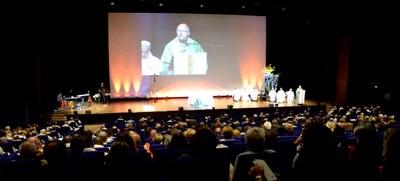 Homélie prononcée par Mgr Jean-Pierre Ricard, lors de la messe de l'Assemblée diocésaine post-synodale, le 29 septembre 2018 au Palais des Congrés de Bordeaux.