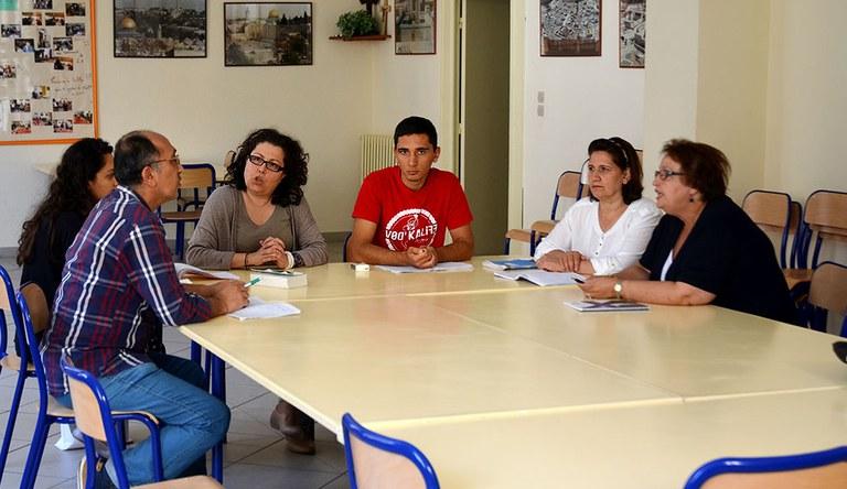 La famille Al-Toma, de Mossoul, est accueillie par la paroisse Saint-Louis de Bordeaux depuis le printemps 2015.