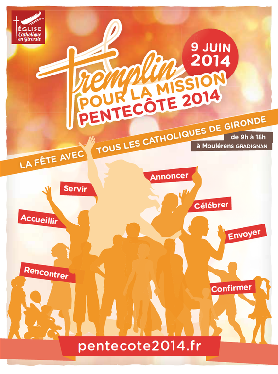 affiche pentecote 9 juin 2014